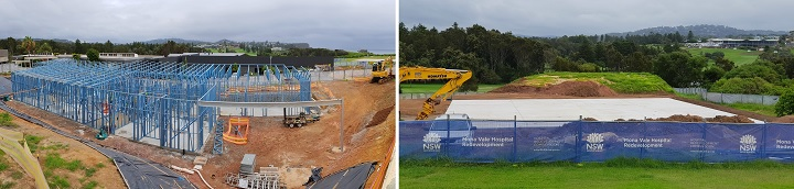 Mona Vale Hospital Support Services Building and Helipad