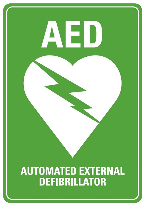 Automatic External Defibrillator sign
