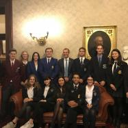 Pittwater's High School Captains At State Parliament