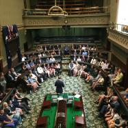 Pittwater's Primary School Captains At State Parliament